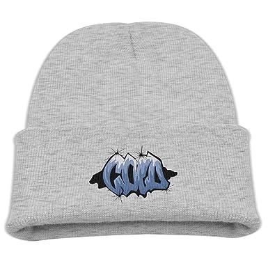 ce0a73ff75d5b Amazon.com  Engchengx Cold Graffiti Children s Knit Cap Ash  Clothing