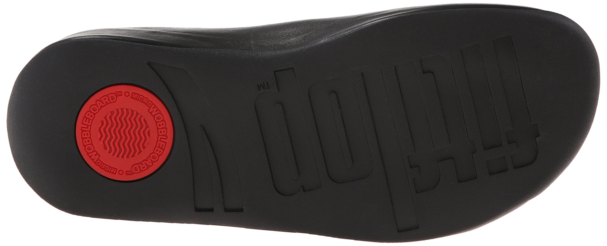 FitFlop Women's Shuv Leather Clog,Black,5 M US by FitFlop (Image #3)