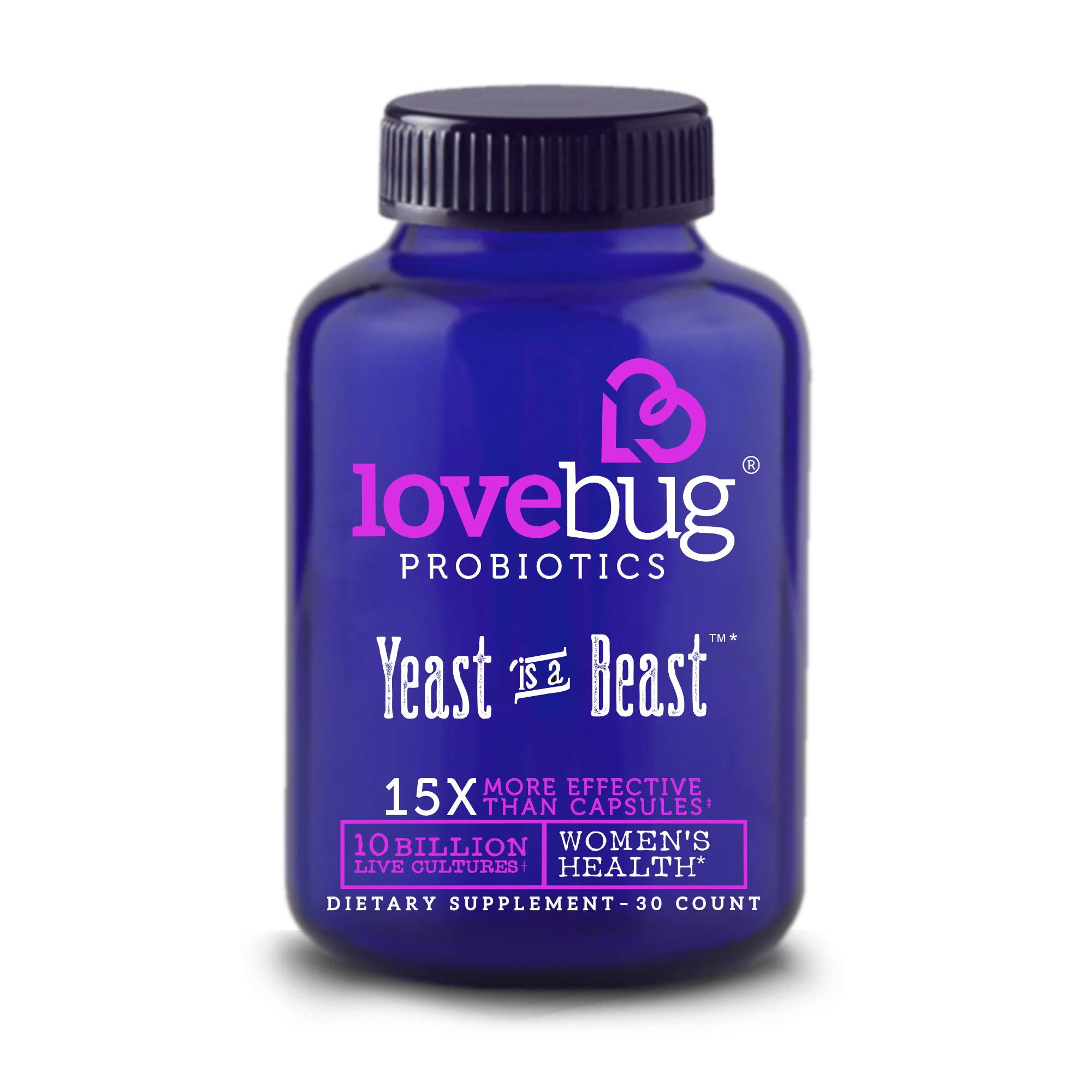 Yeast is a Beast 30 Tablets - Pack of 2
