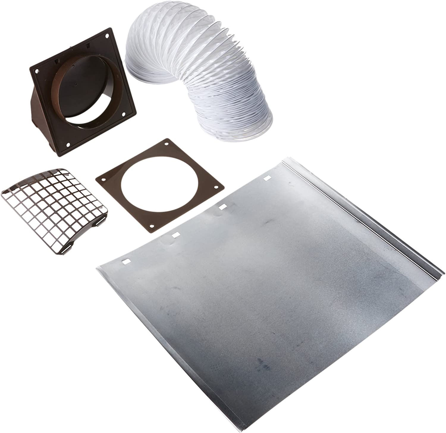 4 In X 8 Ft Lambro 207B Bathroom Vent Kit 5 Pieces