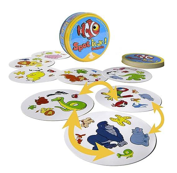 Amazon.com: Spot it Junior Animales.: Toys & Games