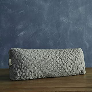 product image for Brentwood Home Crystal Cove Yoga Bolster, Buckwheat Fill Rectangular Support Pillow, Made in California