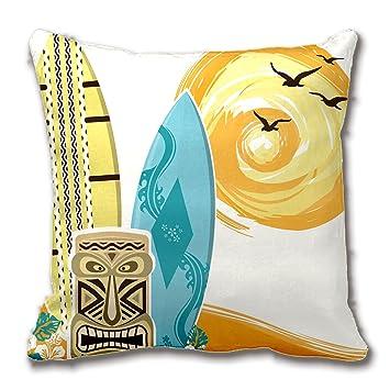 CS Custom Pillow Flores y vides patrón de Ganchillo Manta ...