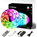 Charkee 16.4ft 5050 Led Strip with Remote