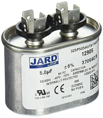 Extraordinary oval run capacitor wiring ideas best image for Blower motor capacitor symptoms