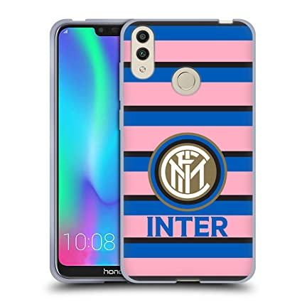 Amazon.com: Official Inter Milan Pink 2017/18 Crest Soft Gel ...