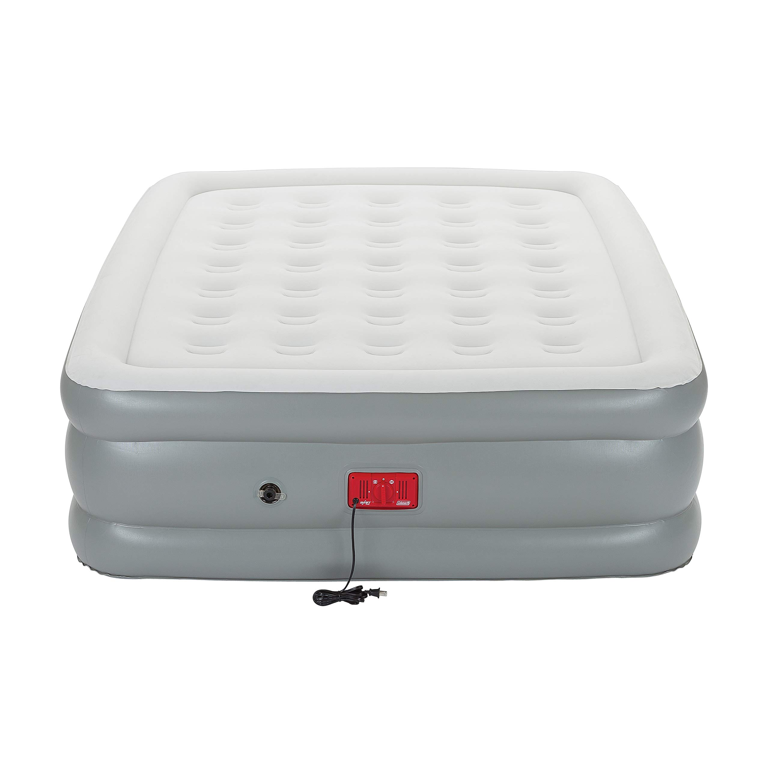Coleman Air Mattress with Built-in Pump | SupportRest Elite Double-High Inflatable Air Bed, Queen by Coleman