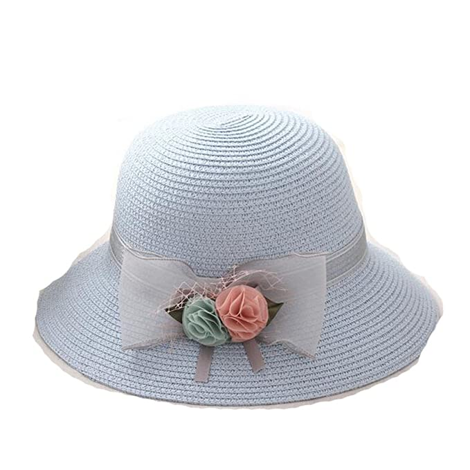 Summer Beach Hat Women Chapeu Panama Bucket Hat Sombreros Anti-UV ... e5e5414336d
