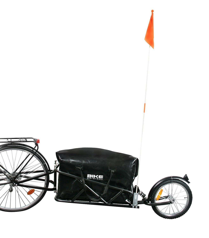 Bike Original–Remolque para Bicicleta monorueda con Amortiguador