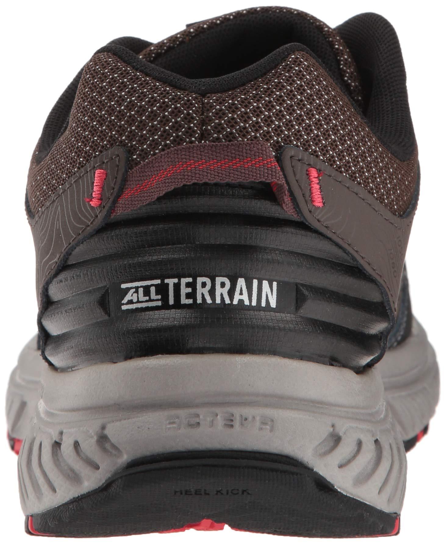 New Balance Men's 510v4 Cushioning Trail Running Shoe, Chocolate/Black/Team red, 7 D US by New Balance (Image #2)