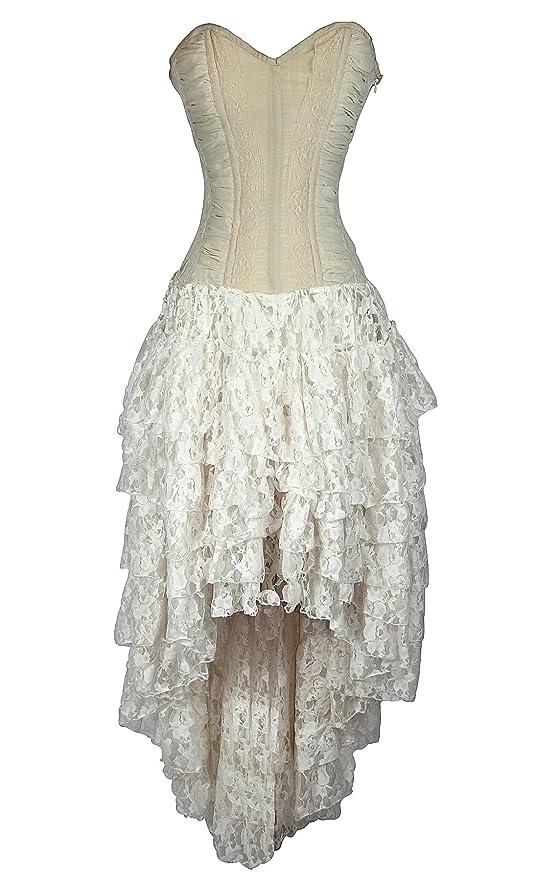 Steampunk Dresses | Women & Girl Costumes Helena Corset Dress $159.99 AT vintagedancer.com