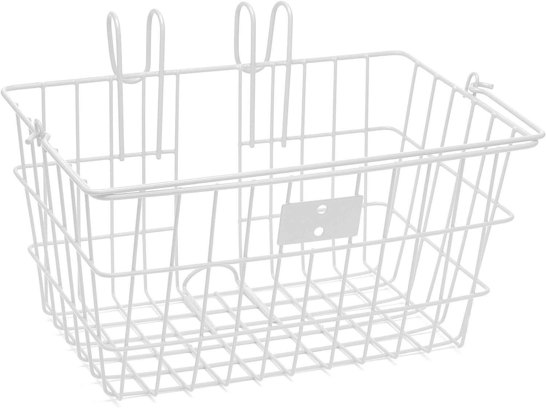 Retrospec Detachable Steel Apollo-Lite Lift-Off Front Bike Basket with Handles