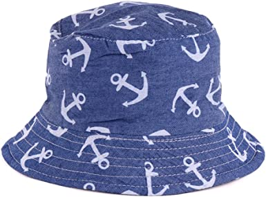 Unisex Hat Cute All Cotton Sun Hat for Mens Womens