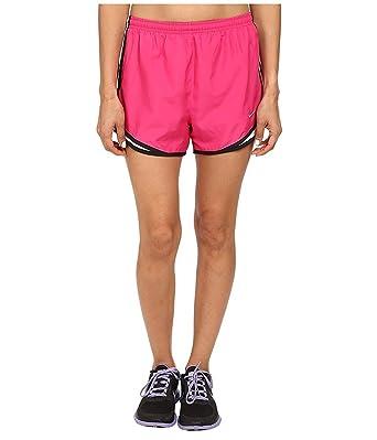 d746df2d8acd Nike Women's Tempo Short, Vivid Pink/White/Black/Matte Silver, XS