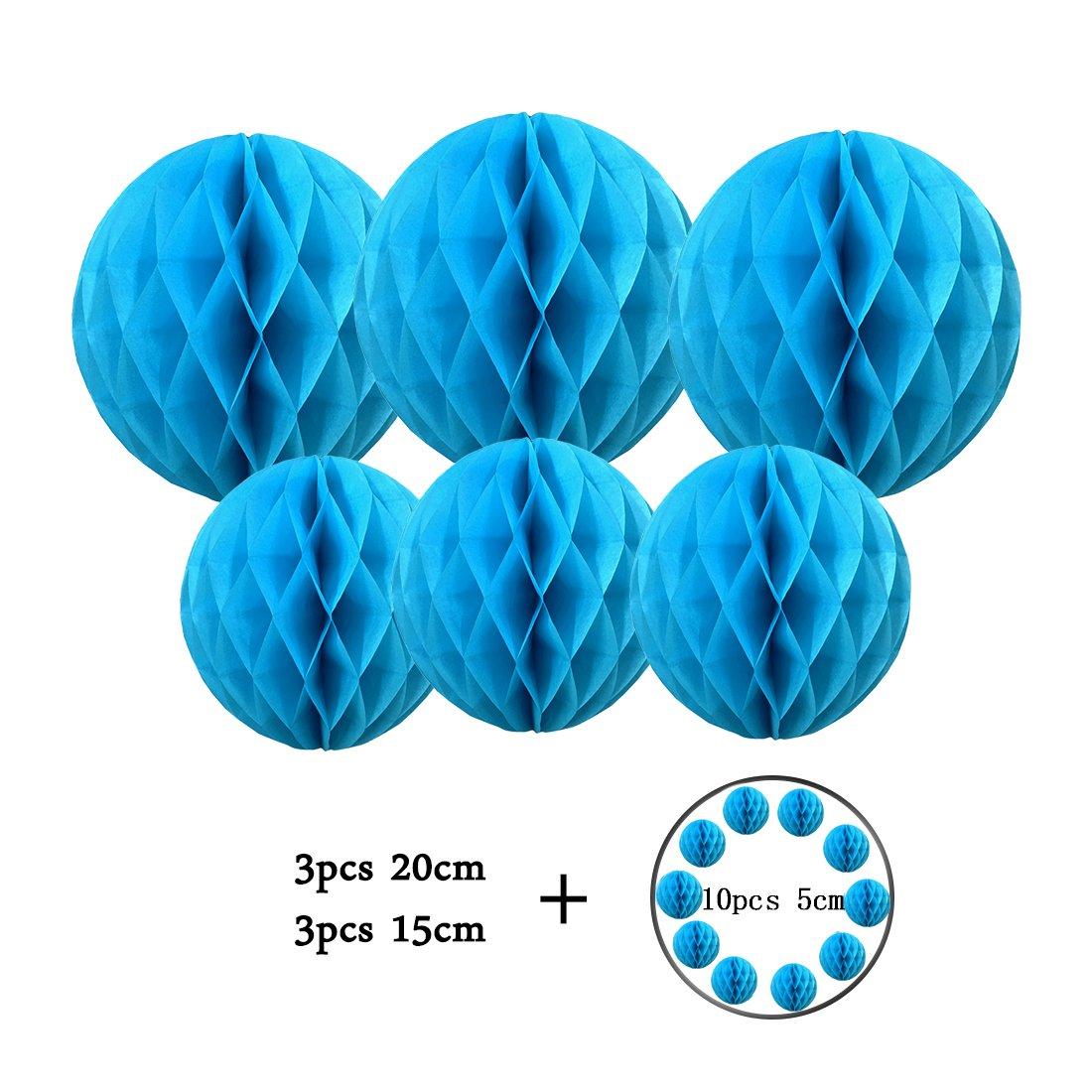 3pcs 15//20cm 10pcs 5cm Paper Honeycomb Balls Peach Decorations for Party Wedding Birthday Nursery Home Decor