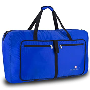 "bd735e10b Suvelle Travel Duffel Bag 29"" Foldable Ultra Lightweight Large Duffle  Bag Packable For Luggage Gym"