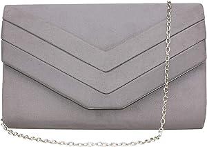 Sweepstakes: Gesu Women Vintage Velvet Envelope Clutch Evening Bag Wedding...