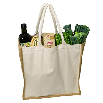 Simple Ecology Organic Canvas Reusable Grocery Bag
