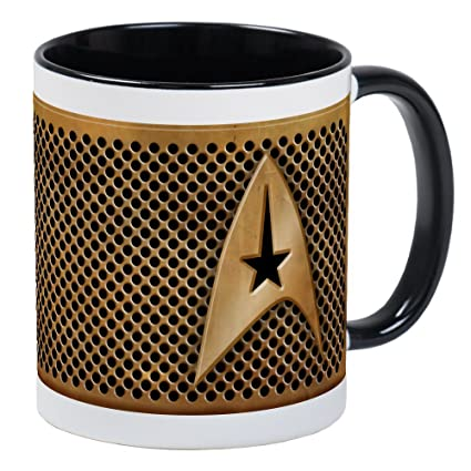 9a27befd0 Amazon.com: CafePress - Star Trek Mug - Unique Coffee Mug, Coffee ...