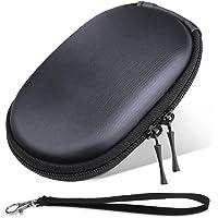 ProCase Bolsa Organizadora Apple Magic Mouse, Portable Carcasa Rígida EVA Protectora de Transporte Macbook Magic Mouse 2 1 Ratón de Logitech -Negra
