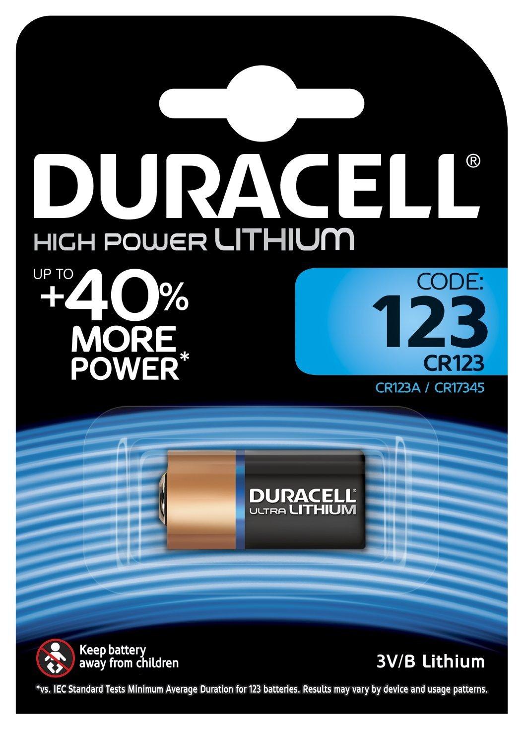 Duracell Ultraultra Lithium Batterie 123 1er Amazonde Elektronik