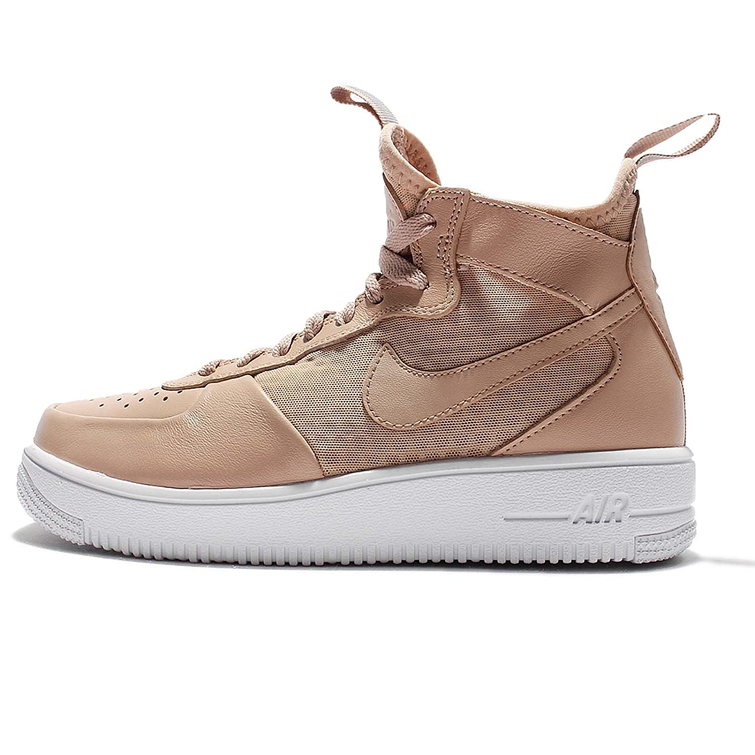 new style ad18e 79643 Amazon.com   NIKE Air Force 1 Ultra Force Mid Warrior Womens Shoes 864025- 200 (6)   Fashion Sneakers
