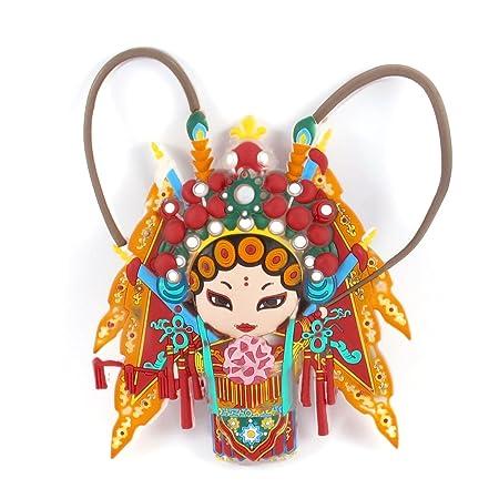 sourcingmap® goma Nevera La ópera de Pekín china del carácter fe ...