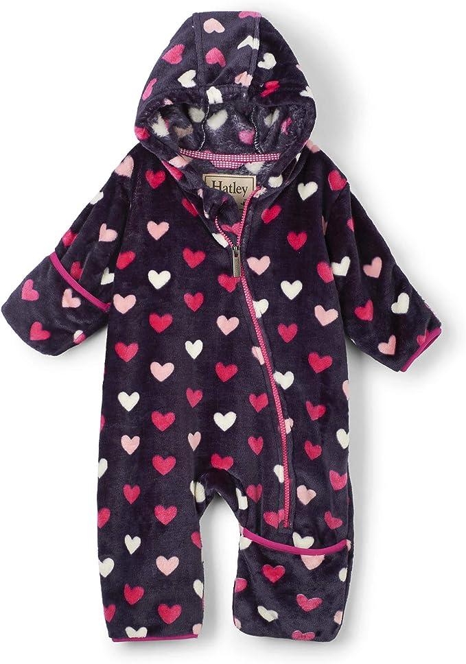 Hatley Fuzzy Fleece Baby Bundler Blouson B/éb/é gar/çon