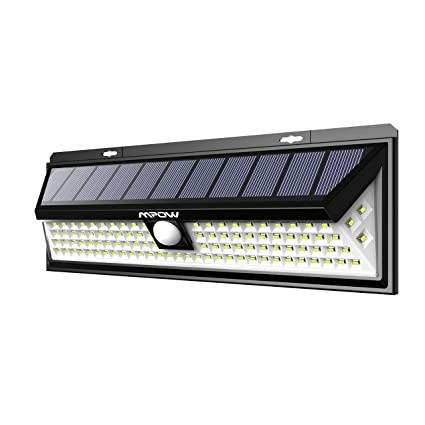 Mpow 102 Led 2200 Mah Lampe Solaire Exterieur Etanche Ip65