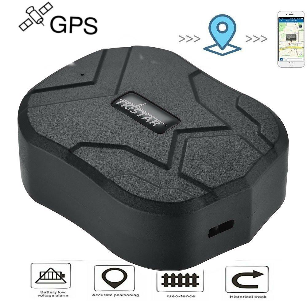 TKSTAR GPS Tracker Localisateur GPS Voiture traceur Localisateur pour voiture Temps réel Tracker suivi vehiculos 150 jours d'attente avec forte aimant antivol GPS avec l'application gratuite tk905b