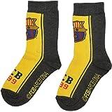 7dc5c5a1b2482 FCB Calcetines para niños con licencia oficial del FC Barcelona Messi  Suarez Neymar
