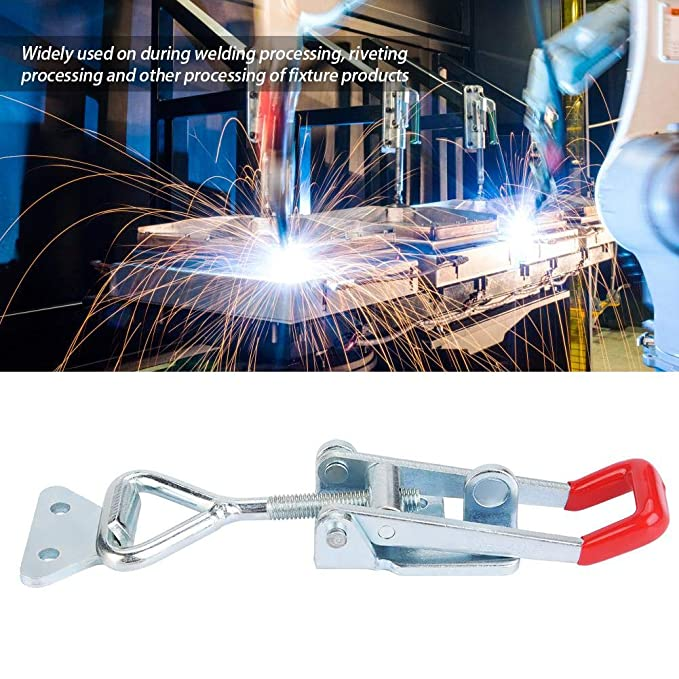 BRH-4003 Iron Galvanized Quick Clamp Mechanical Welding Equipment Toggle Buckle for Riveting Processing
