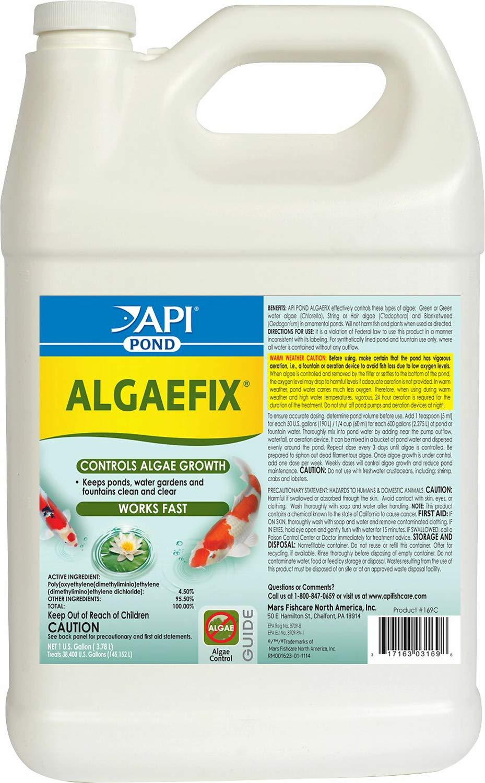 API Pond AlgaeFix, 1 Gallon, 2 Pack by API