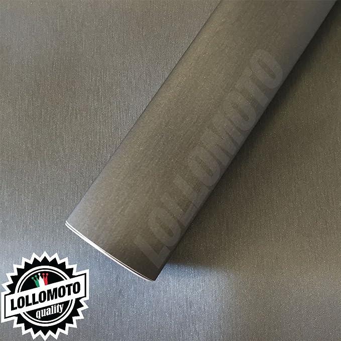 1 opinioni per Titanio Spazzolato Pellicola Adesiva Auto Car Wrapping- 150x100cm (Offerta)