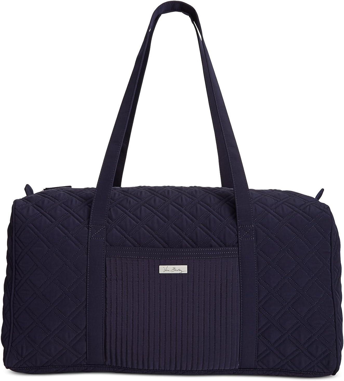 Vera Bradley Large Duffel Bag in Classic Navy