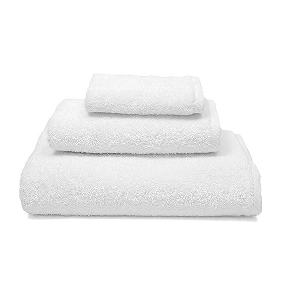 orpheebs - Toallas de baño de lujo, 660 g/m2, 100% de algodón peinado de cero torsión. HOTEL SPA. Suavidad máxima y calidad absorbente elevada (20 Toallas ...