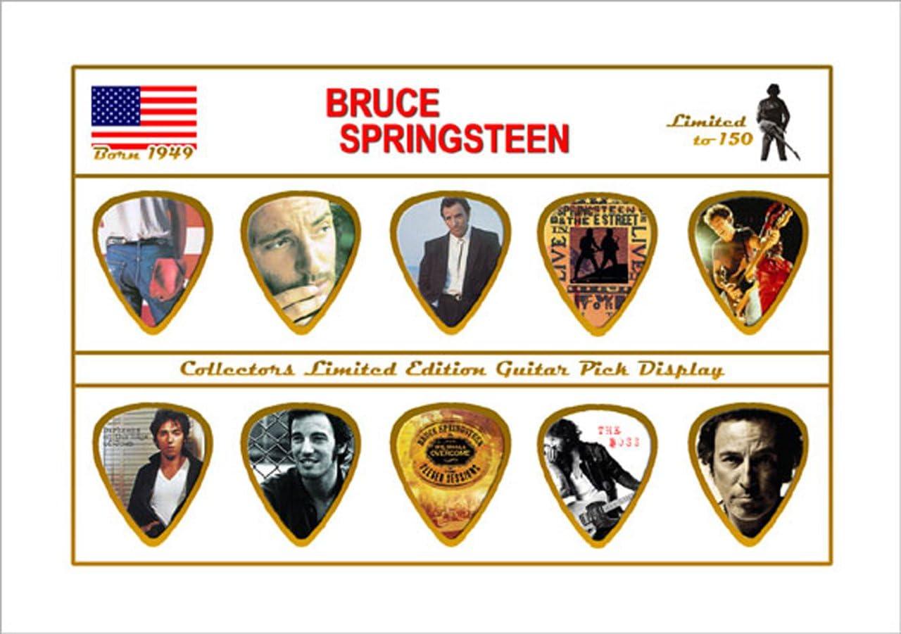 Bruce Springsteen - Pack de plectros, púas para guitarra, edición ...