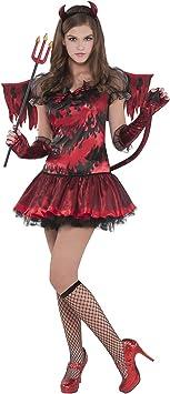 Disfraz de Diablesa para niñas y adolescentes en varias tallas ...