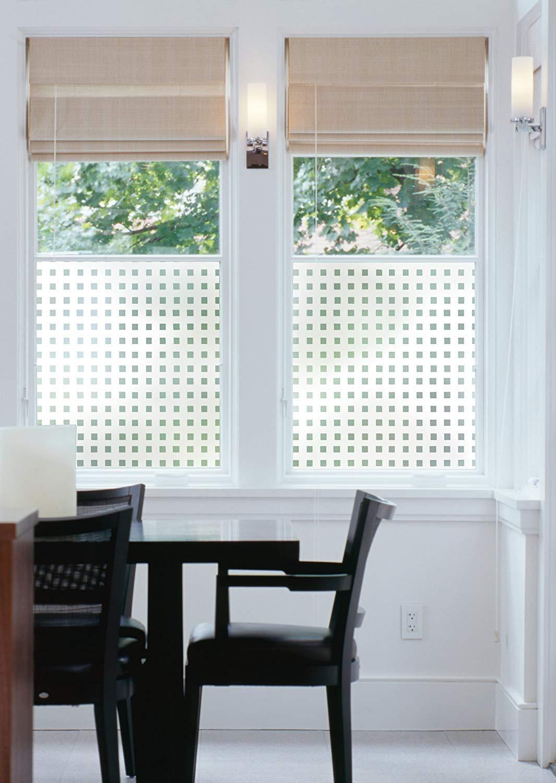 17.71 x 59 Roll Caree//Matrix 338-0010 d-c-fix Privacy Glass Reusable Static Cling Window Film