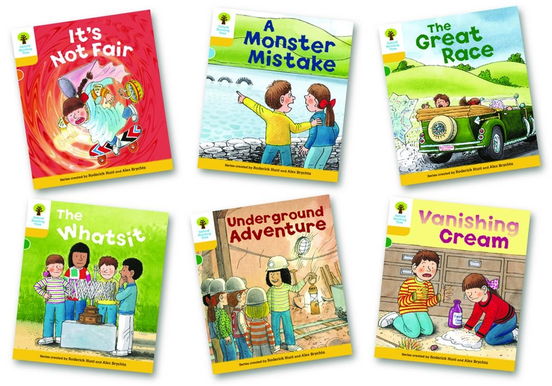 Oxford Reading Tree: Stage 5: More Stories A: Pack of 6