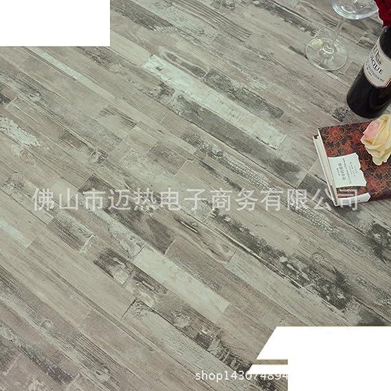 Suelo de madera del pvc/espesar,suelo de imitación de madera/suelo de madera antideslizante impermeable/suelo plástico usable-A 30x60cm(12x24inch)
