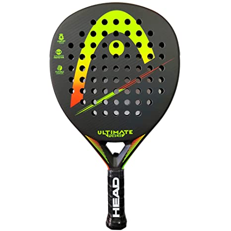 Head Pala de Padel Ultimate Power 2 Yellow/Orange: Amazon.es ...