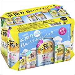 【チューハイ・カクテルの新商品】17夏 キリン 本搾りチューハイ 6缶バラエティパック 350ml×6本×4セット