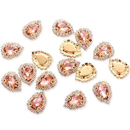 Amazon.com  Crystal Rhinestones Sewing on 1414264954fb
