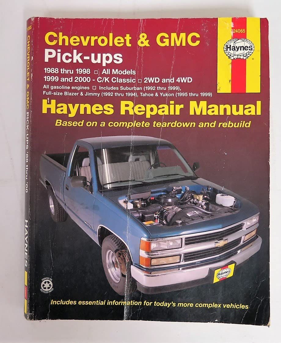 1991 gmc c k sierra pickup wiring diagram manual amazon com 88 on gm pu automotive  amazon com 88 on gm pu automotive