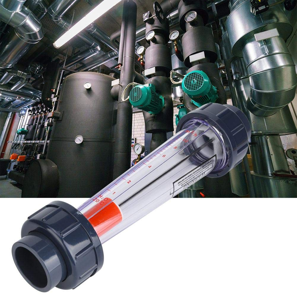 LZS-32 Wasser Fl/üssigkeitsdurchflussmesser D ABS-Kunststoffrohrdurchflussmesser Durchflussmessger/äte 1-10 m/³//h 0,6 MPa