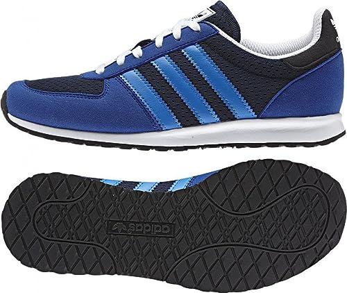 adidas - Zapatillas de Piel para Mujer, Color Azul, Talla 38,5: Amazon.es: Zapatos y complementos