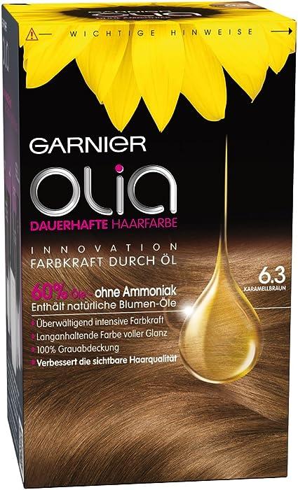 Garnier Olia 6.3 caramelo marrón