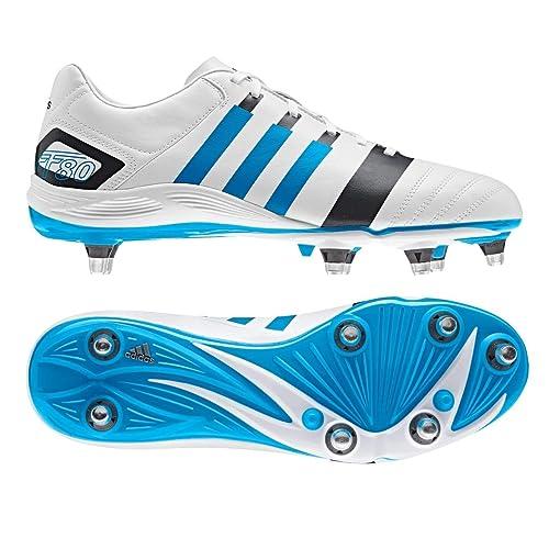 promo code 7a882 a7ea1 Adidas FF80 TRX SG II - Scarpe da Calcio BiancheBluGrigie - Nero, 43 ⅓  Amazon.it Sport e tempo libero