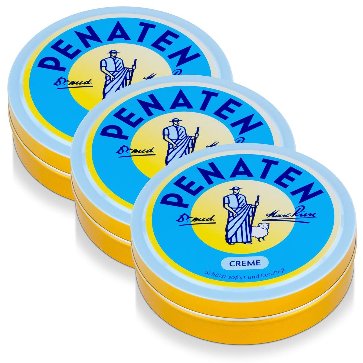 Baby Creme - 150ml (Pack of 12) by Penaten